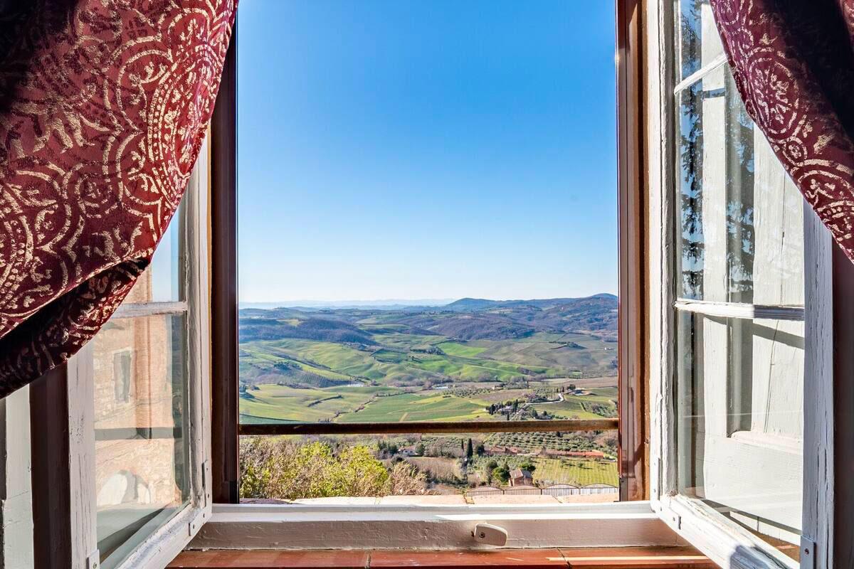 Vista Panoramica Palazzo San Donato Montepulciano